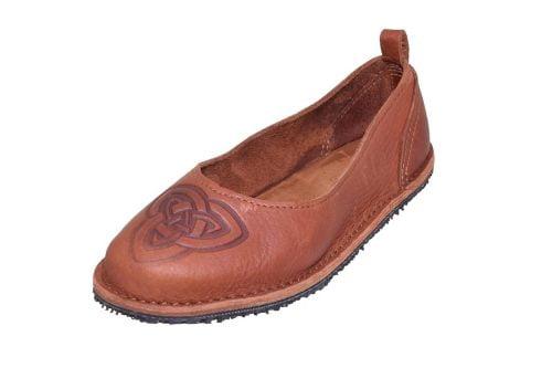 leathe slipper