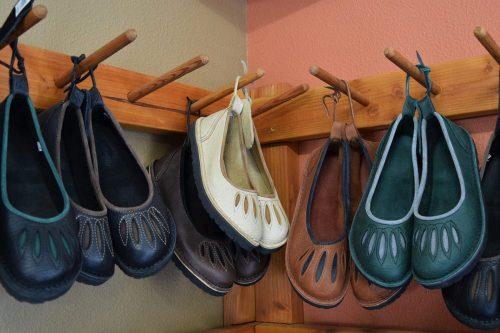 leathe shoes